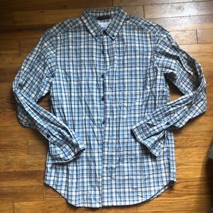 MENS COLUMBIA BUTTON DOWN